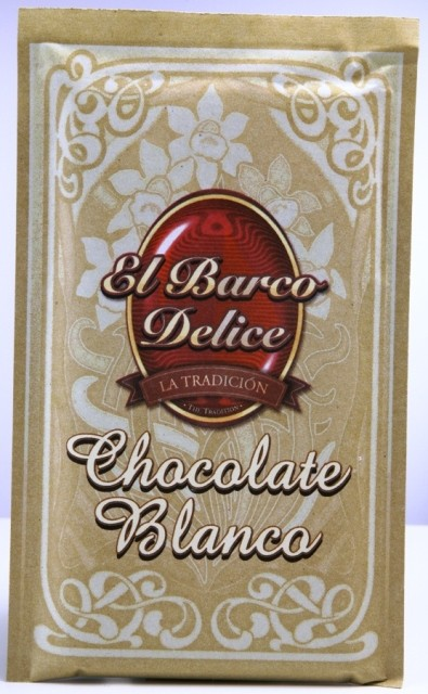 Chocolate blanco El Barco Delice